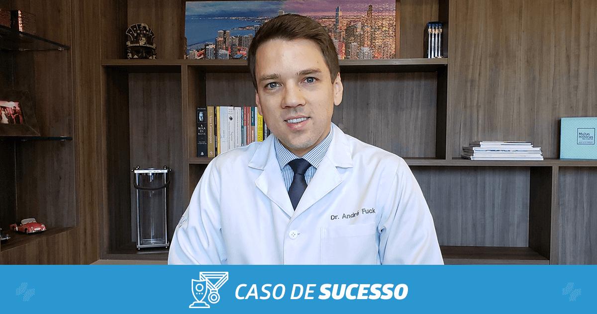 Como o Dr. André Fuck melhorou sua relação com os pacientes por meio da tecnologia