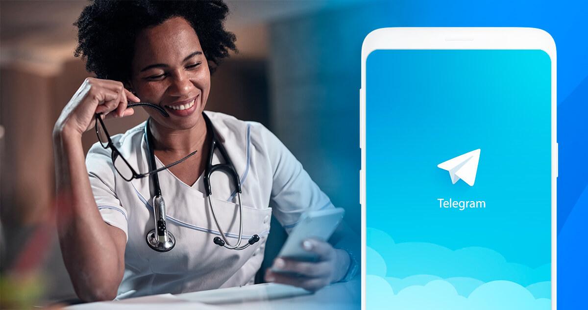 iClinic no Telegram: conheça as vantagens de participar do canal