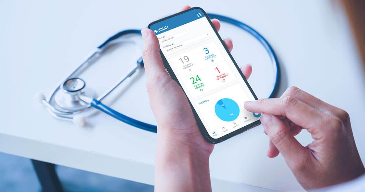 Como atender seus pacientes pelo aplicativo iClinic?