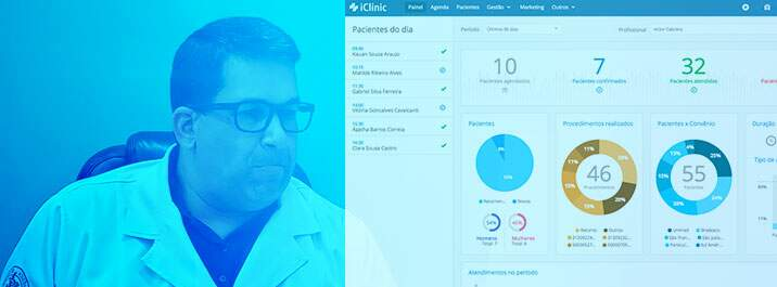 Caso de sucesso do Dr. Silvio: cuide dos pacientes com o iClinic