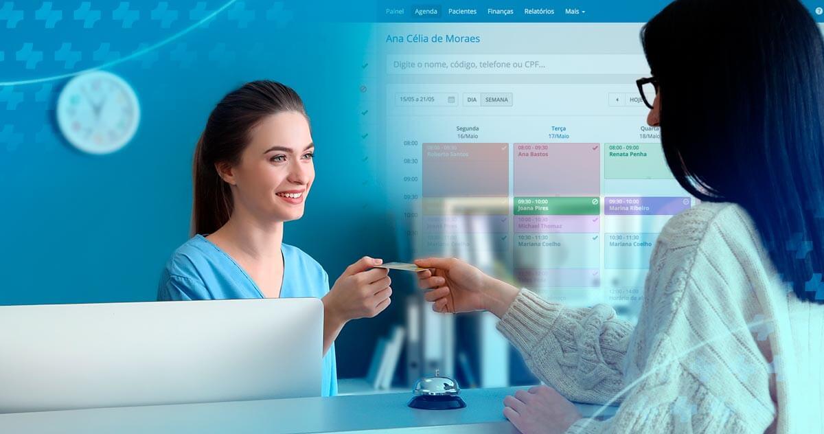 Como o iClinic melhora a recepção do seu consultório?