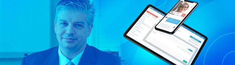 Tenha o melhor software médico iClinic como o Dr. Raphael Marcon