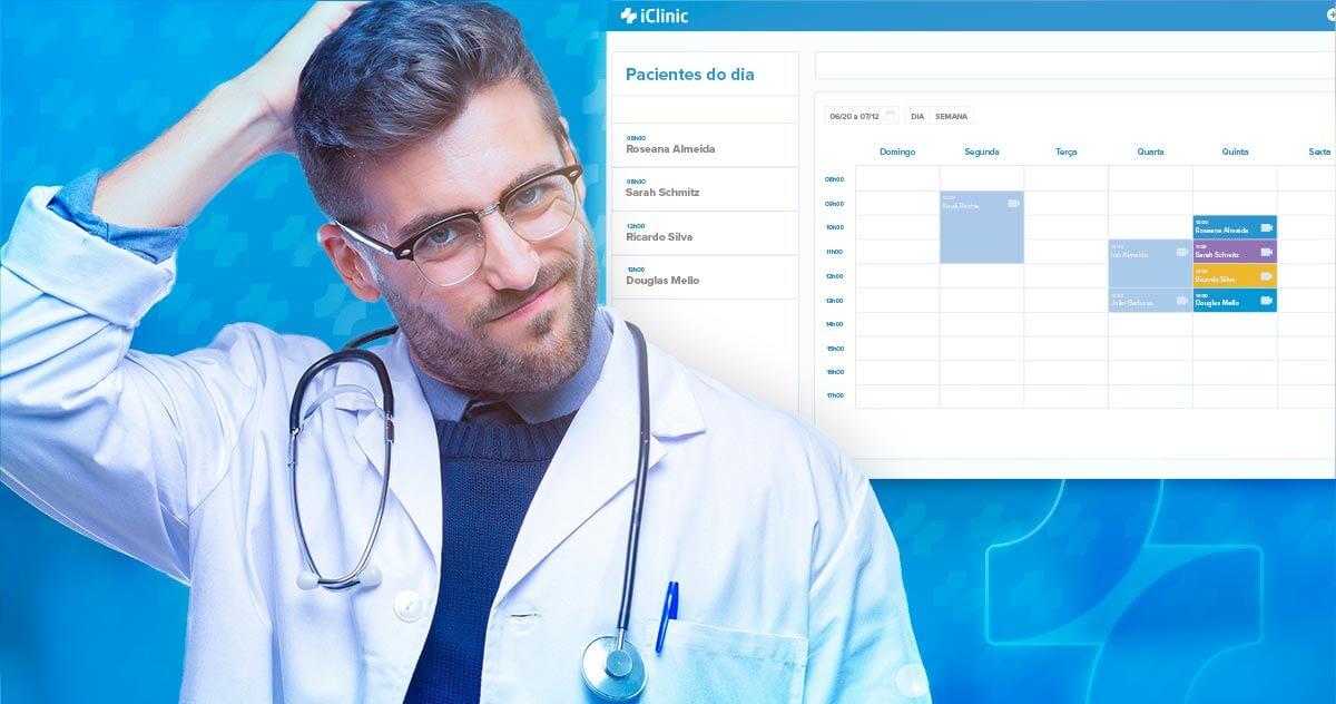 Qual é a hora de migrar de plano no software médico iClinic?