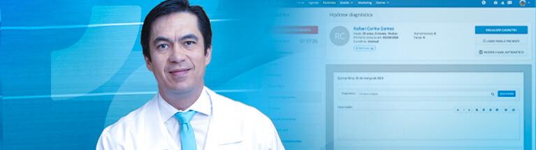 Modernize sua clínica com o iClinic como o Dr. Ferdinando Félix