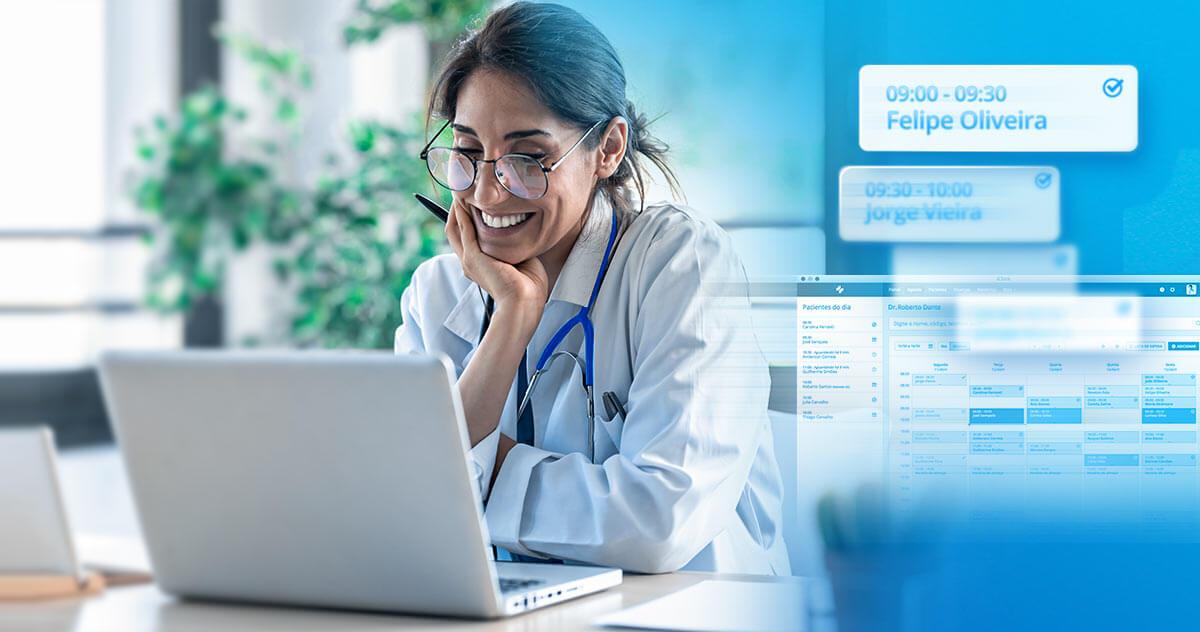 Qual a importância do agendamento online na jornada do paciente?