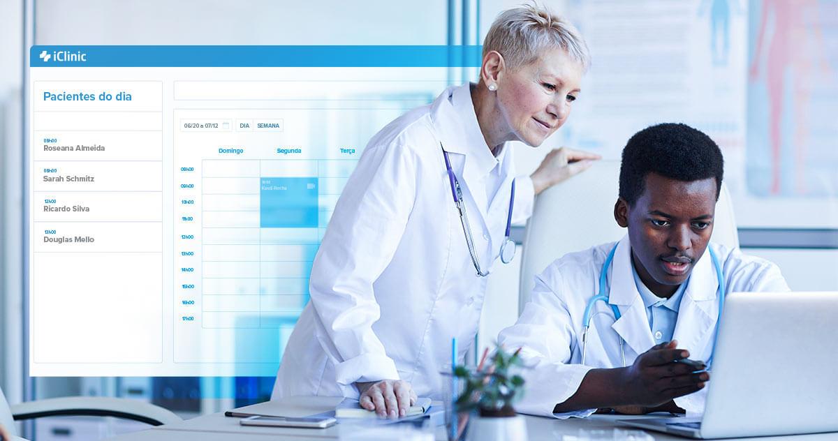 Como o iClinic melhora sua experiência no coworking médico?