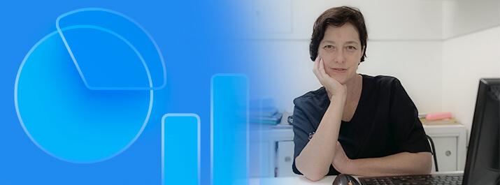 Dentista Claudelice Queda com o software médico iClinic