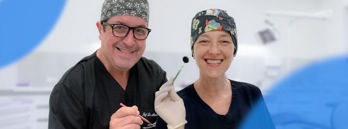 Dentista Claudelice Queda com o iClinic