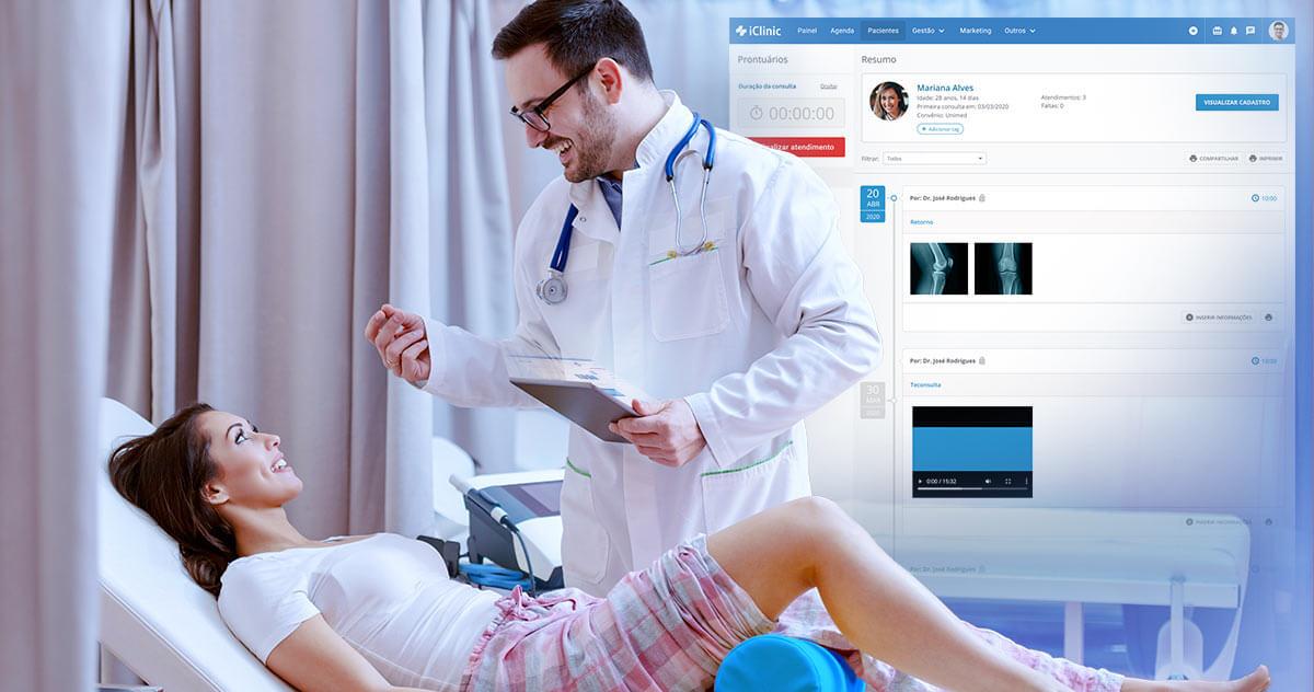 Utilize o iClinic durante emergências e ofereça um atendimento ágil aos pacientes