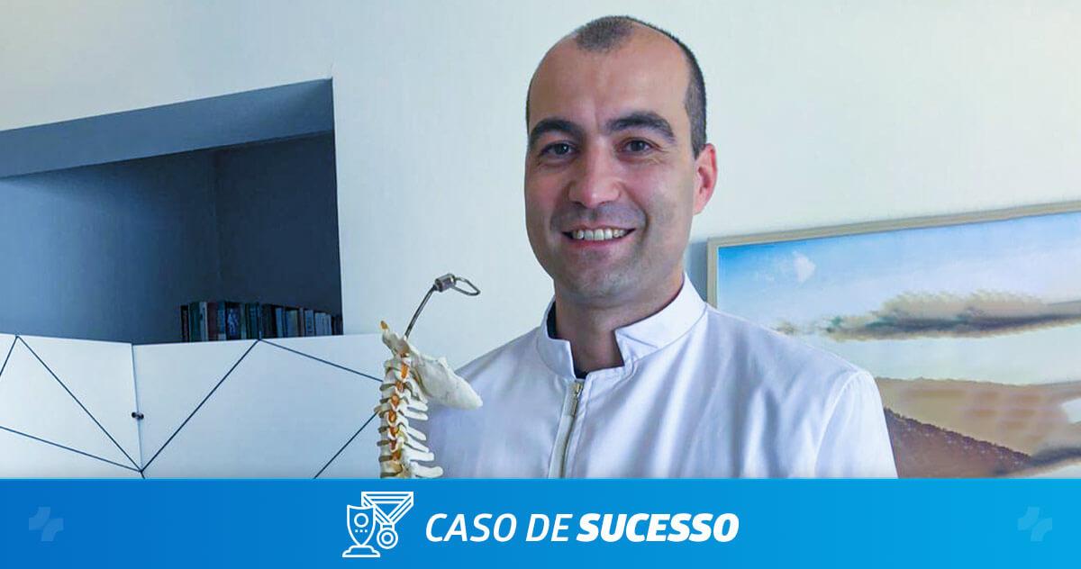 Como o Bruno Diaz obteve sucesso como empreendedor na área da saúde?