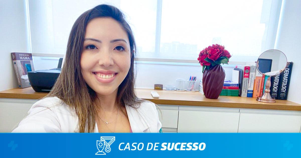 Como a Dra. Paula Yume Sato administra seu consultório dermatológico com o iClinic?