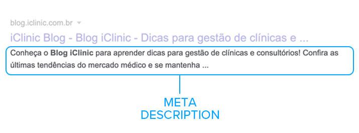 meta description fator de ranqueamento
