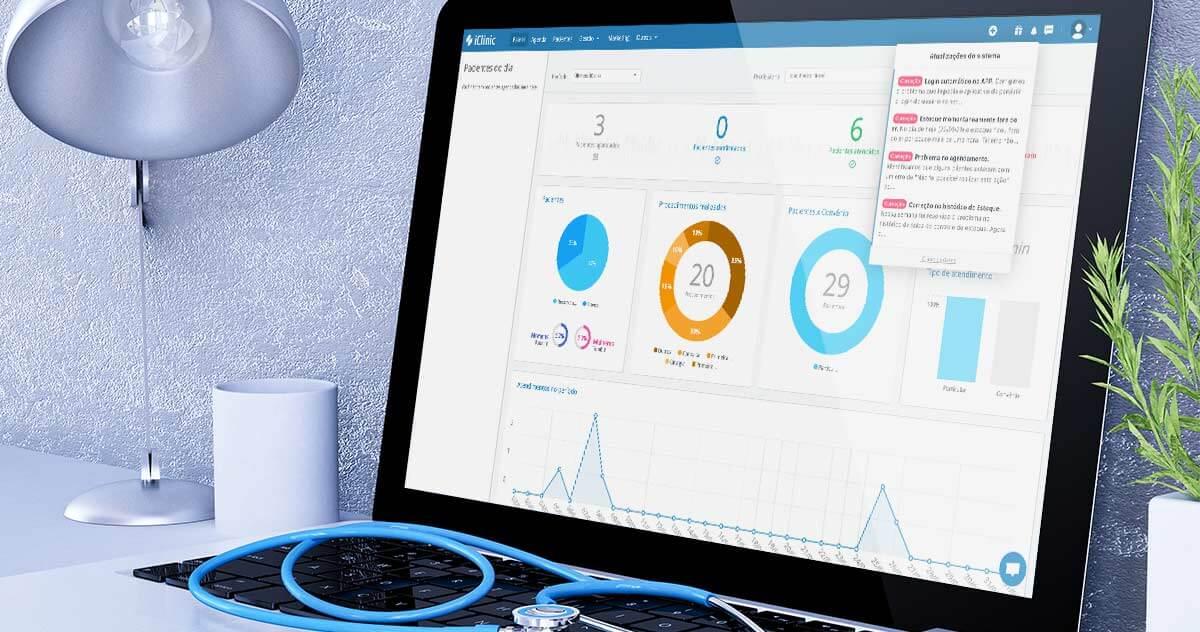 Acompanhe todas as atualizações do software médico iClinic