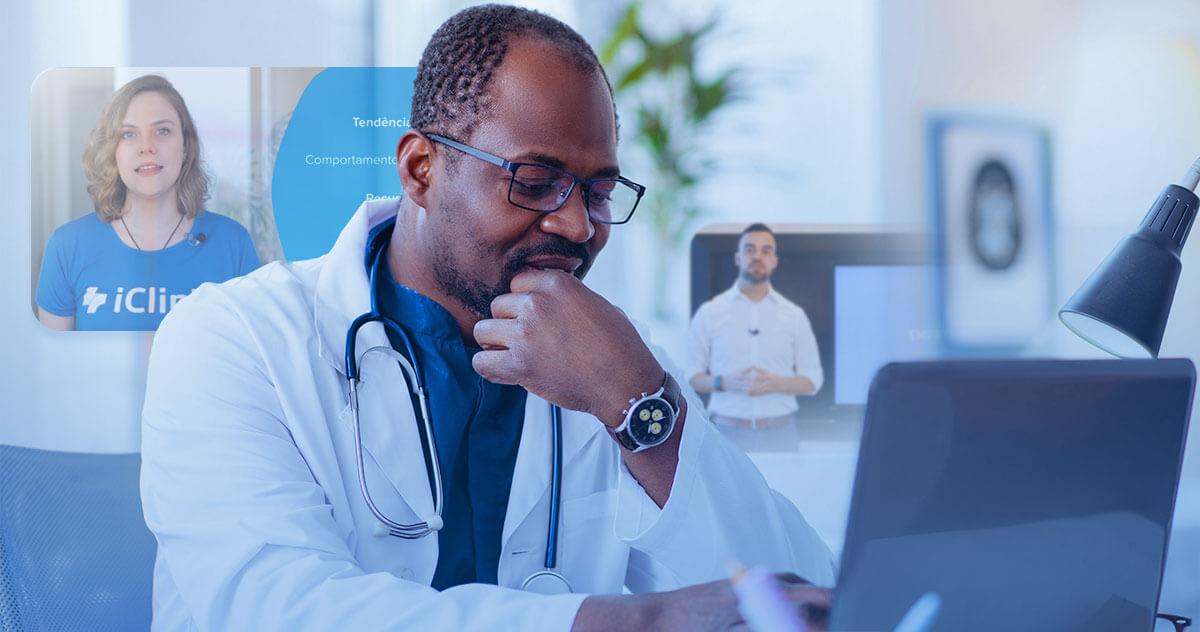 7 vantagens dos cursos da iClinic para médicos e recepcionistas