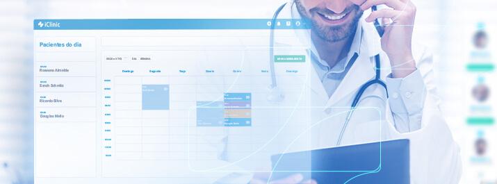 Consulta oftalmológica com o iClinic do Dr. Germano Dalfito