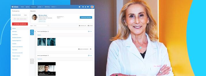 Dra. Sandra Allegro se moderniza com o software médico iClinic