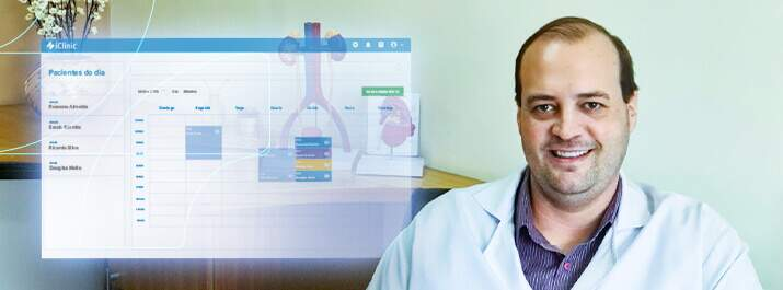 Atenda mais pacientes com o iClinic como o Dr. Junior Kurz