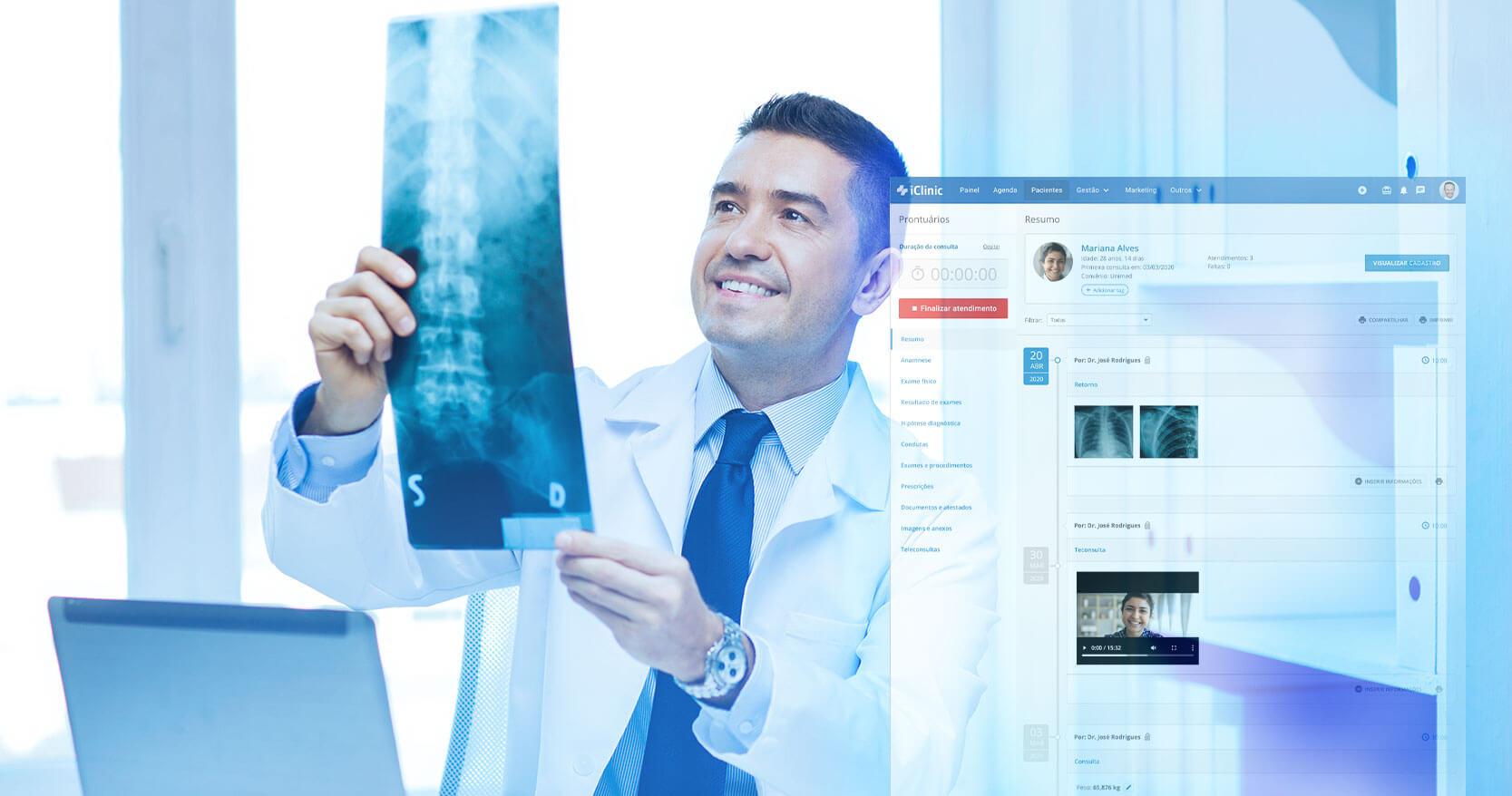 7 diferenciais para ortopedistas e traumatologistas no iClinic