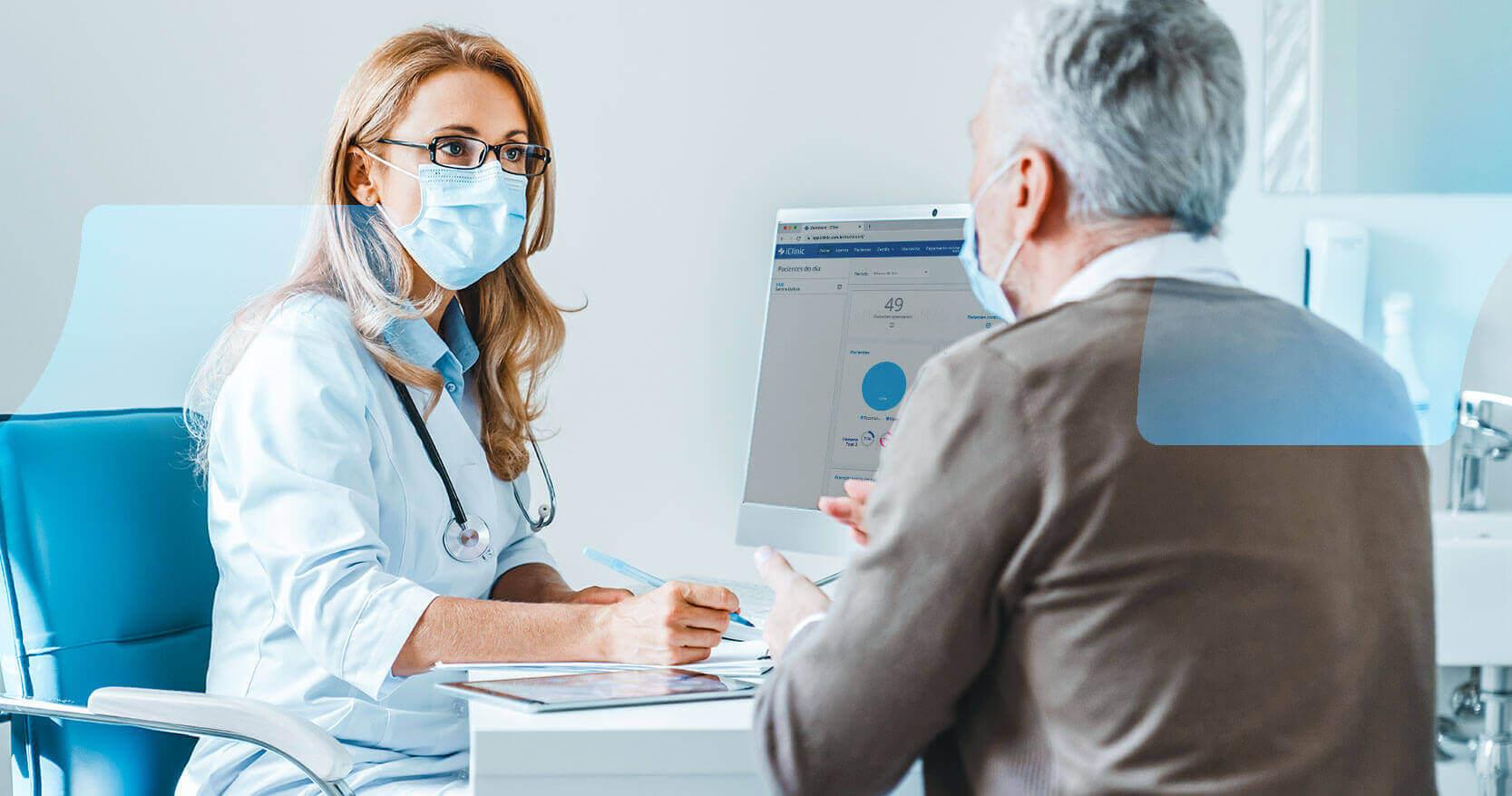 Como os cardiologistas melhoram a relação médico-paciente com o iClinic?
