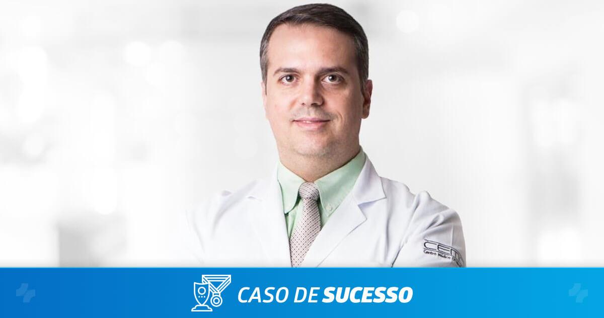 Como o Dr. João Marcos Atique tem domínio total das informações com o iClinic?