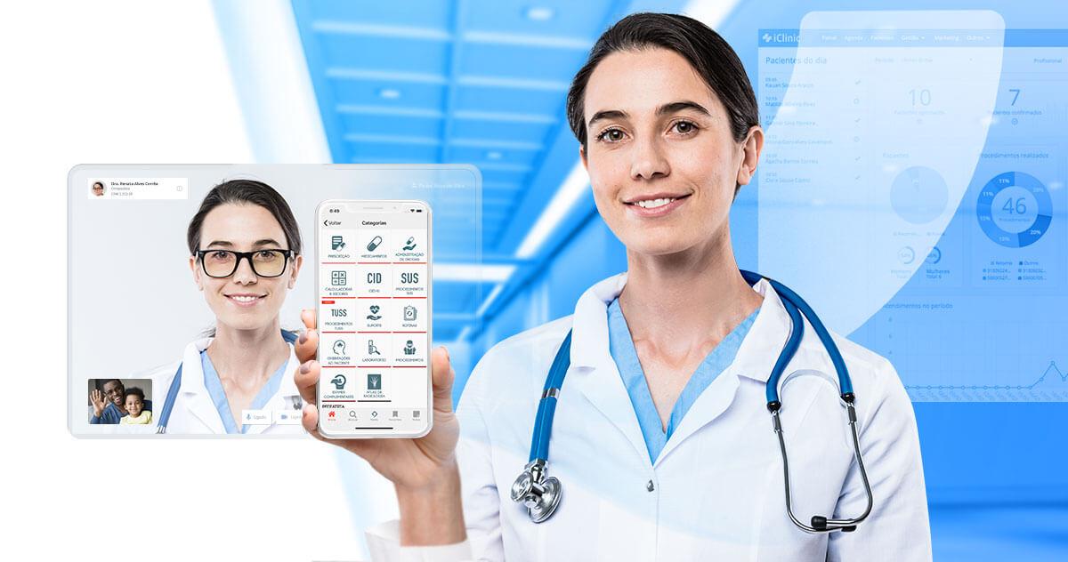 Plano Premium iClinic: acesso ao Whitebook Premium e Teleconsultas ilimitadas