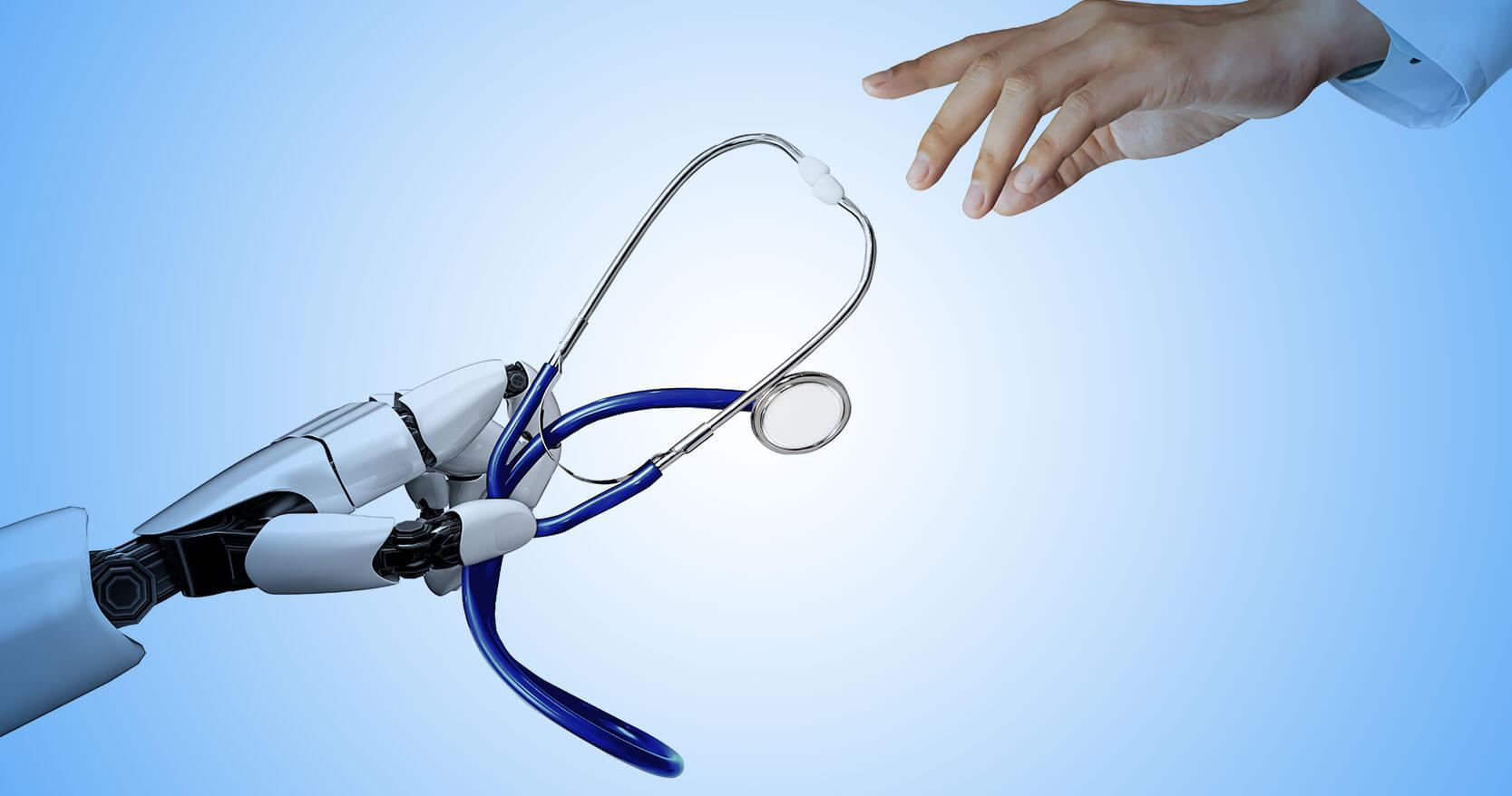 7 principais impactos dos robôs na área da saúde