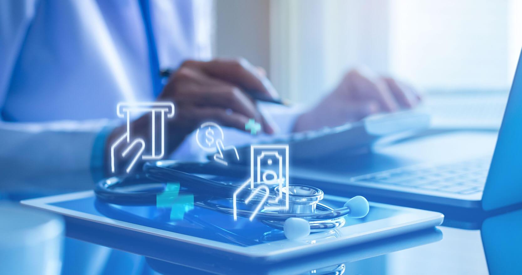 Sistema financeiro para médicos