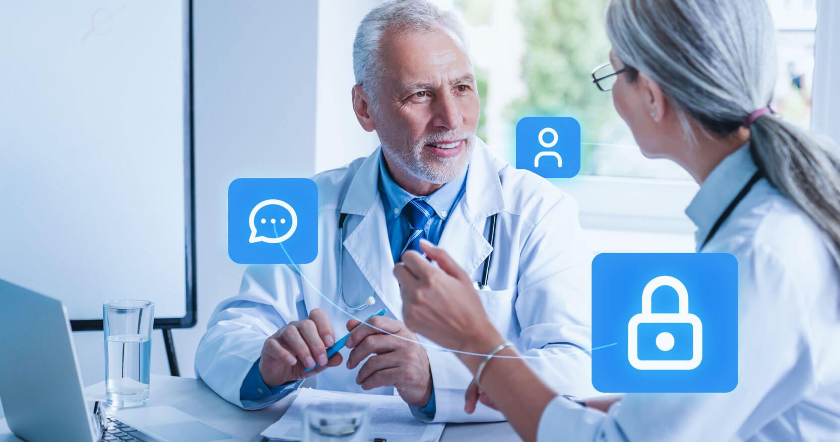 segurança dos dados dos pacientes