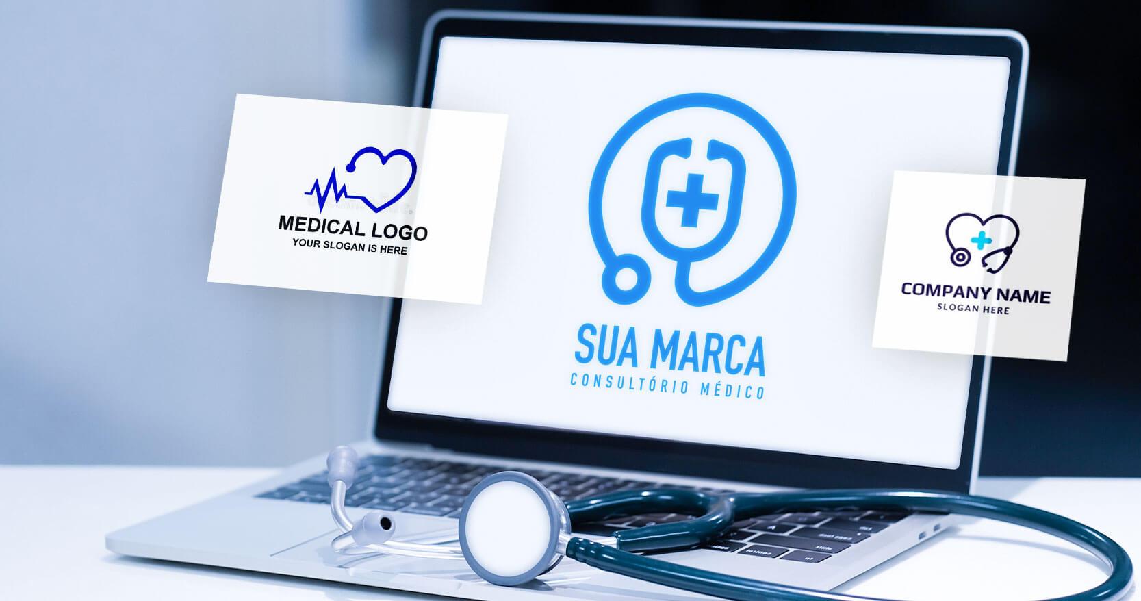 Criação de marca para clínica